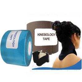 Kinesiology trak moder, bež in trak za vrat